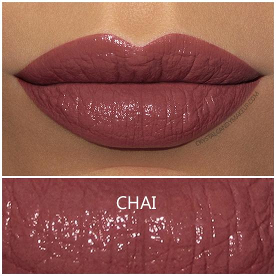 BITE Beauty Amuse Bouche Lipstick Chai Swatch