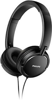 Philips SHL5000/00 On Ear Headphone with Deep Bass (Black)