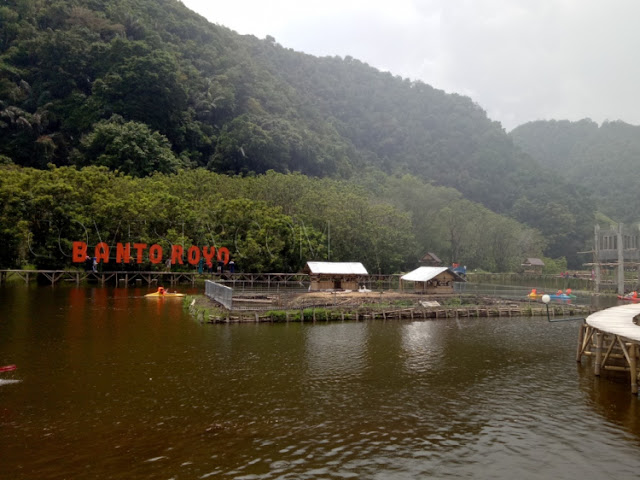 Danau Kecil Wisata Banto Royo sumbar