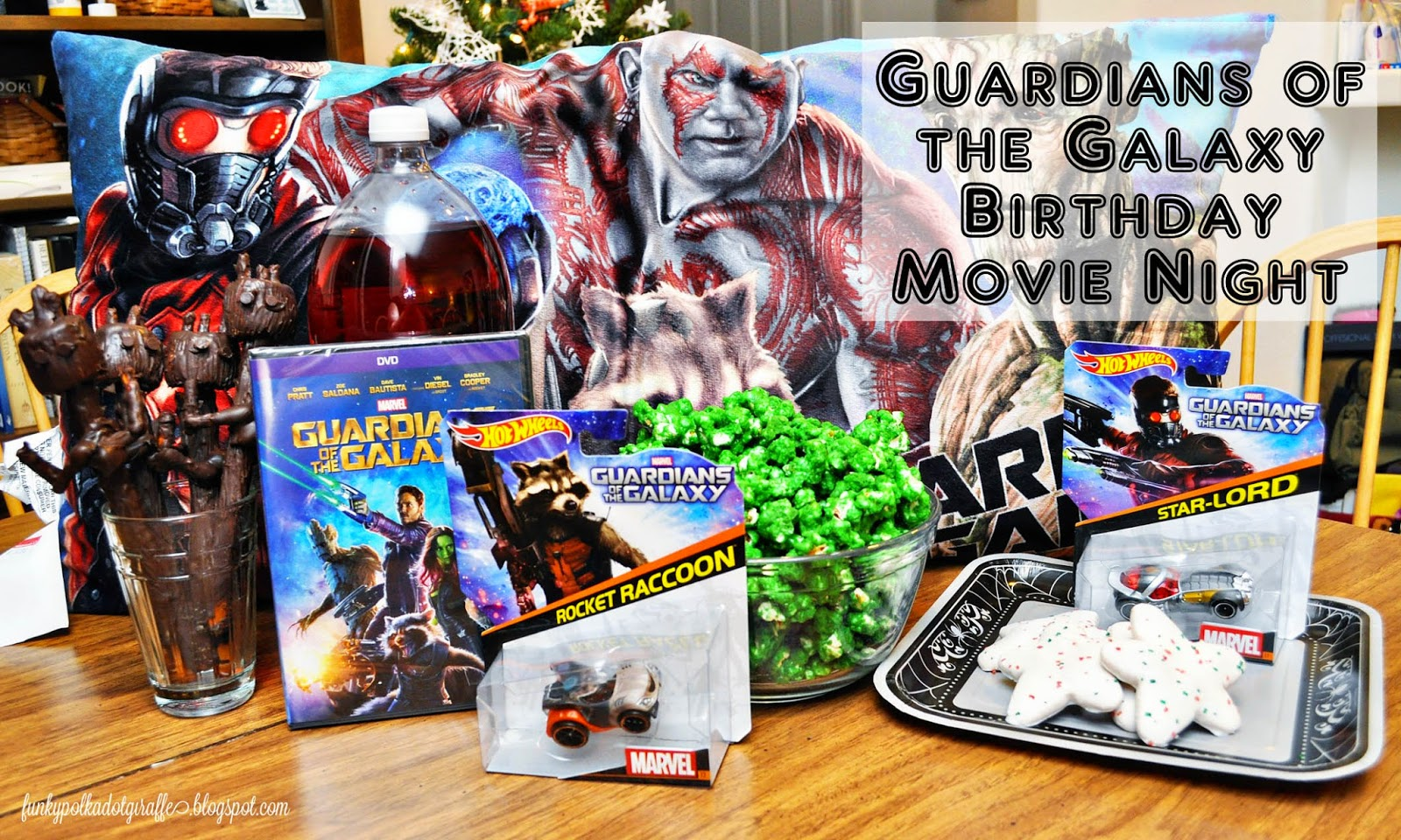 guardians of the galaxy birthday party