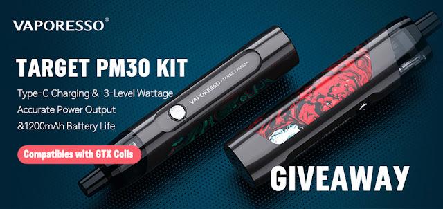 Target PM30 Kit Giveaway