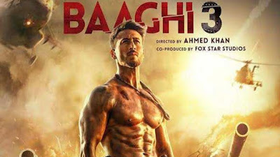 Baaghi 3 Movie Download link tamilrockers