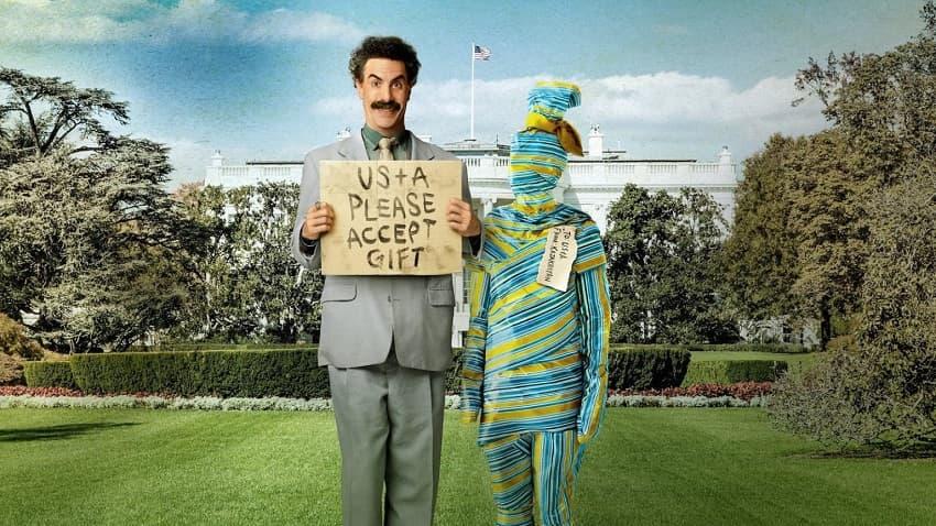 Рецензия на комедию «Борат 2: Следующий кинофильм» - Царь во дворца?