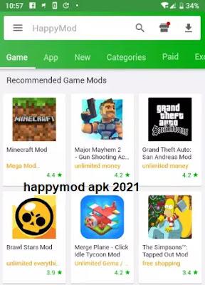 تحميل happymod للكمبيوتر 2021