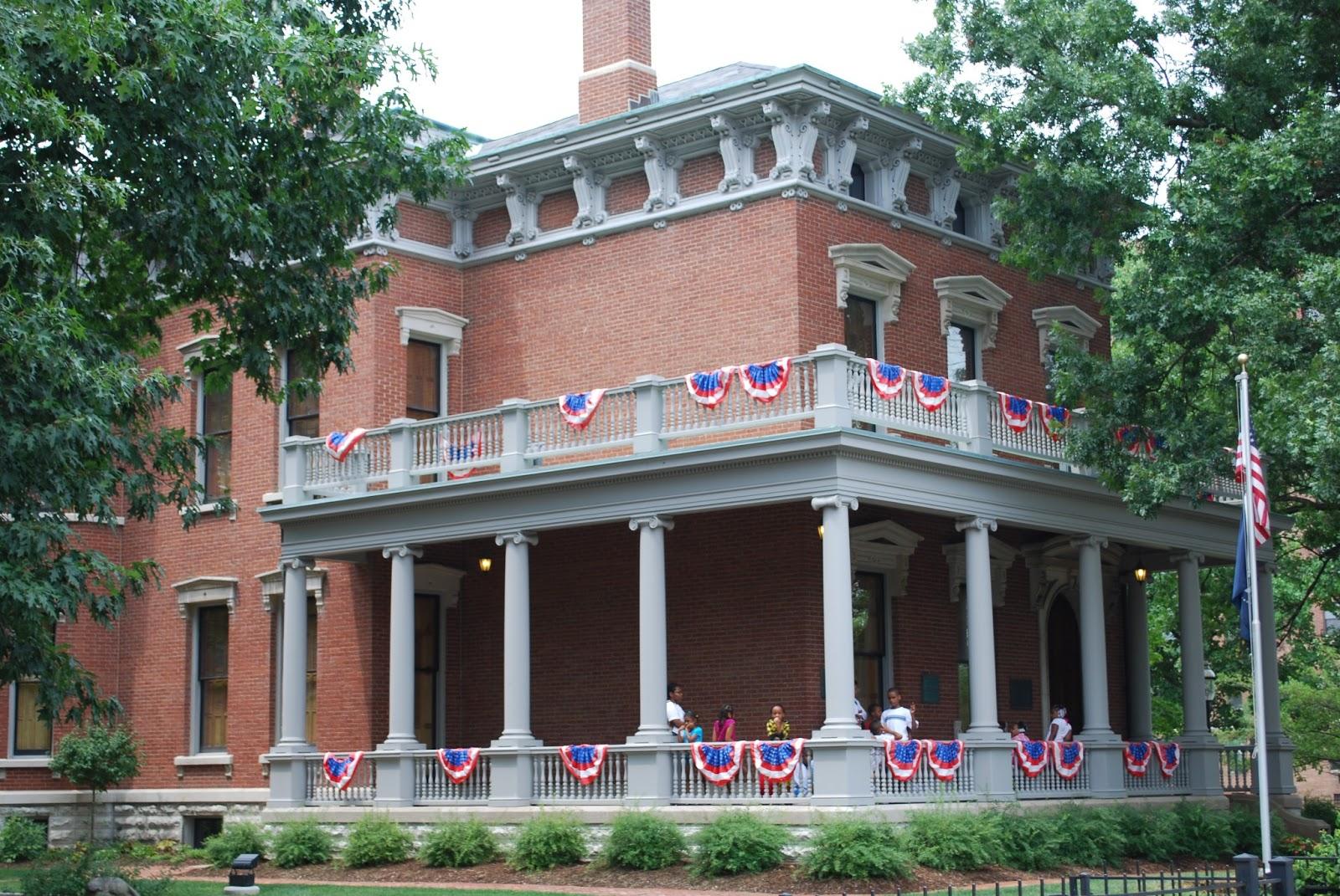 Vote No'Malley: Happy President's Day!  Benjamin Harrison House