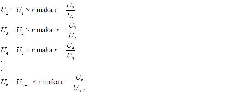 Pengertian Contoh Dan Rumus Barisan Geomateri Beserta Contoh Soal Barisan Geometri