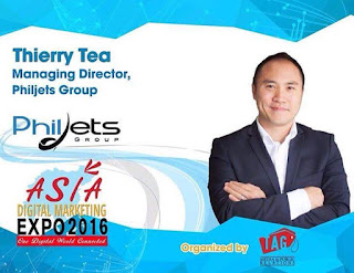 Philjets Group Managing Director Joins Asia Digital Marketing Expo 2016