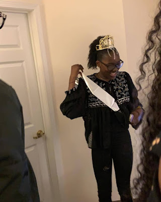 [See Photos] 2face Idibia Daughter Turns 13 As Father Flies To The US To Surprise Her
