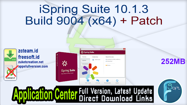 iSpring Suite 10.1.3 Build 9004 (x64) + Patch_ ZcTeam.id