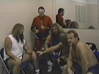 Smoky Mountain Wrestling - Fire on the Mountain 1993 Review - Cornette's Criminals cut a backstage promo before facing  Armstrong's Army