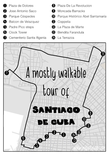 A Mostly Walkable Tour of Santiago de Cuba {Guest Post by My Gipsy Soul} | CosmosMariners.com