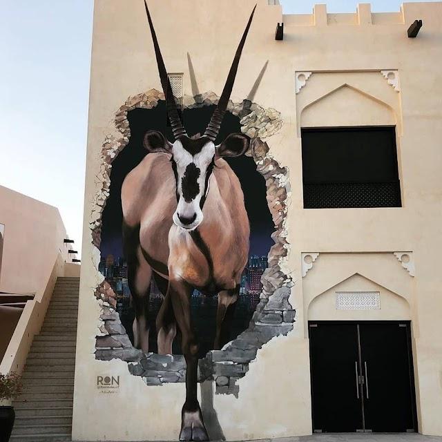 Top 5 outdoor murals (street art) in Doha you need to see