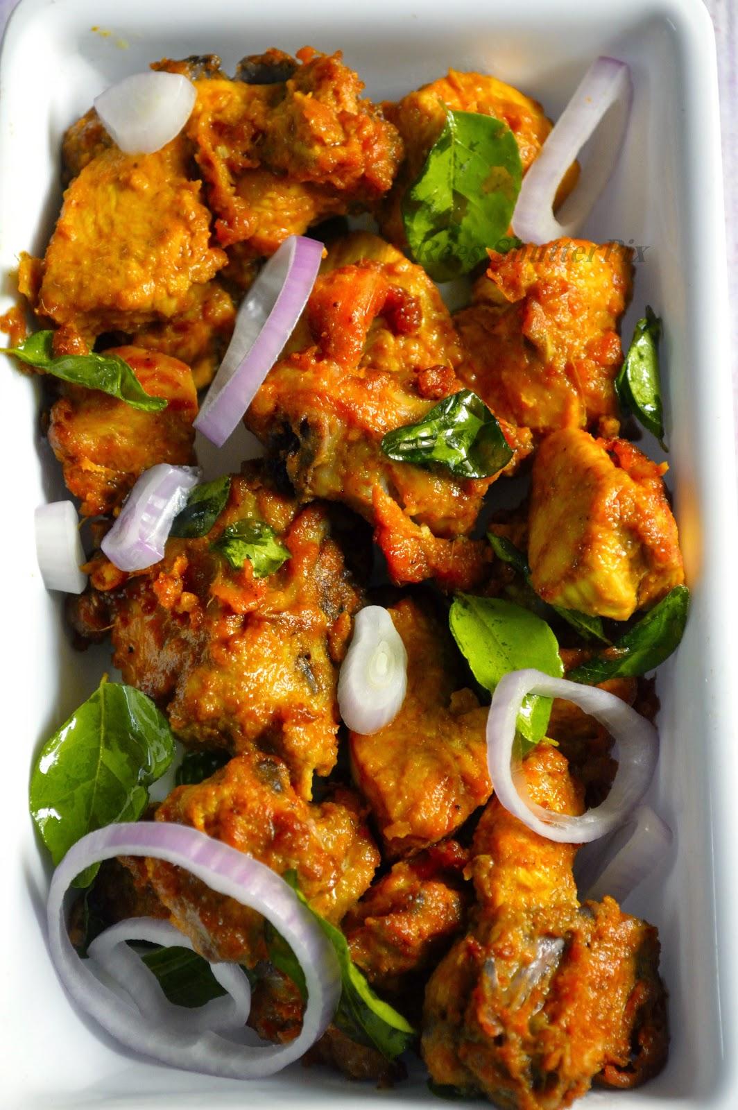 Spicy Chicken Fry Recipe   Non Vegetarian Recipes ...