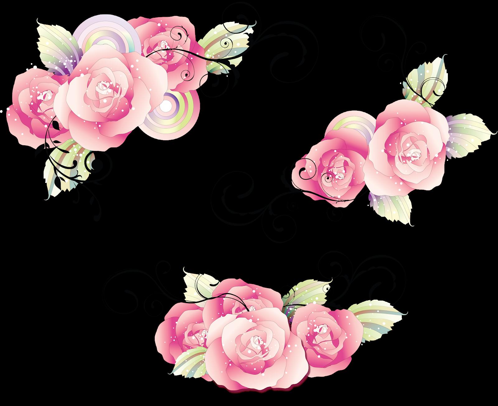 Роза открытки вектор
