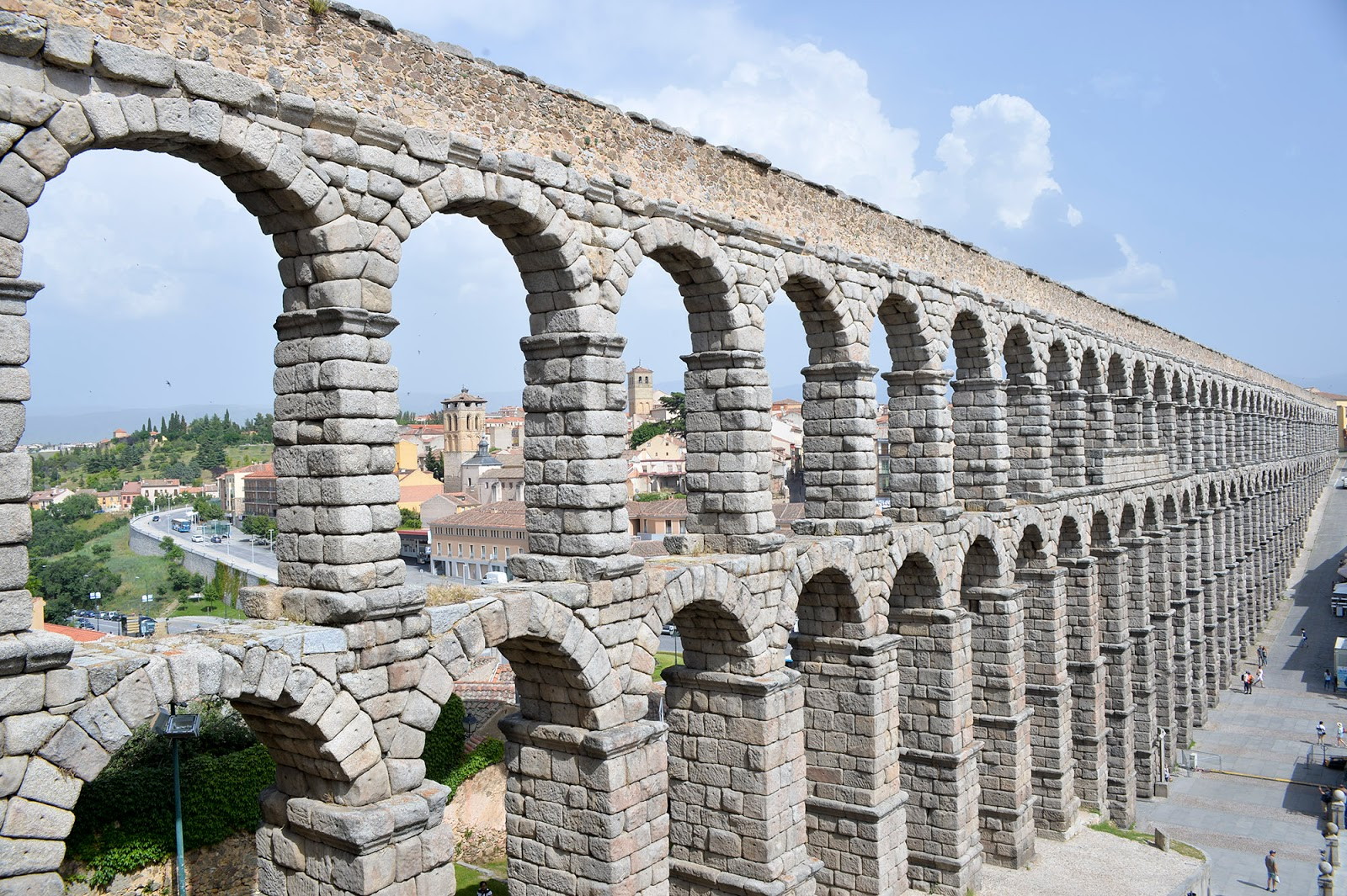 Unesco World Heritage old town roman aqueduct Segovia travel guide weekend Spain
