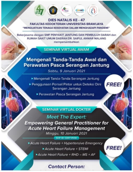 Seminar Virtual Dokter Meet The Expert: Empowering General Practitioner for Acute Heart Failure Management