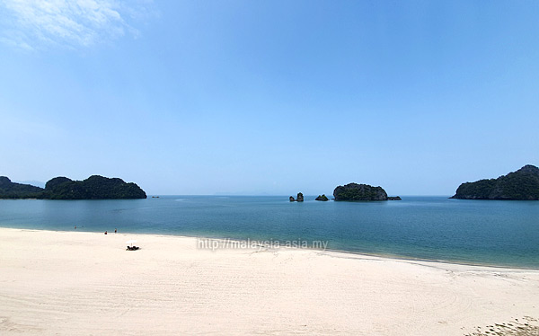 Beach at Tanjung Rhu Resort