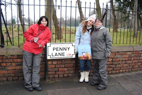 En Penny Lane, Liverpool