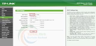 ضبط اعدادات اكسز بوينت 3G/4G Wireless N Router TL-MR3220