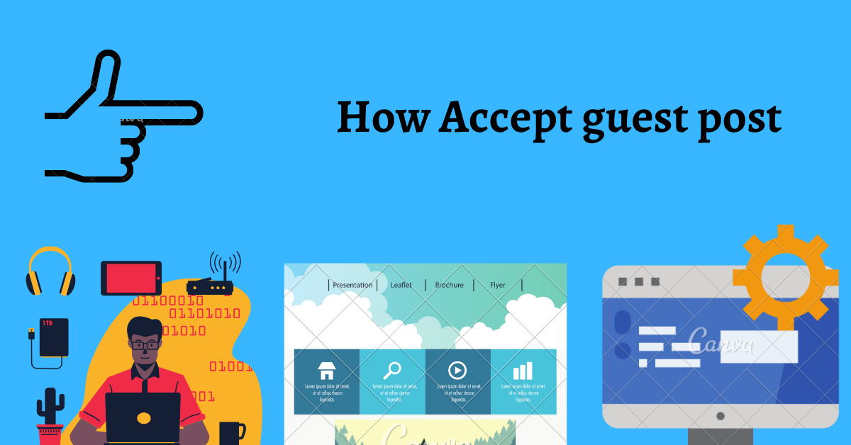 How to accept guest post