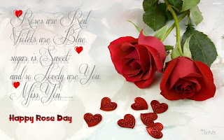 Rose Day sms, Rose Day wishes for free downloadv