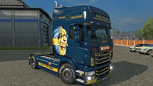 Scania RJL Swedish Lion