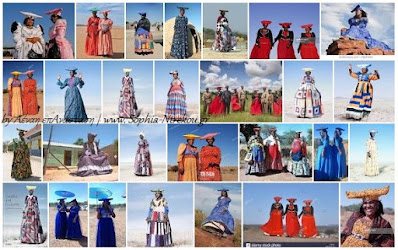 fashion herero dresses designs Χερέρο: Η φυλή θύμα γενοκτονίας των Γερμανών με το βικτωριανό ντύσιμο