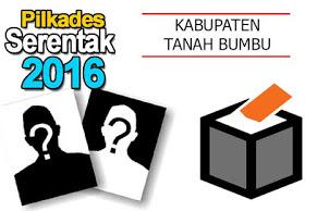 Daftar Kades Terpilih Dalam Pilkades Di Kabupaten Tanah Bumbu