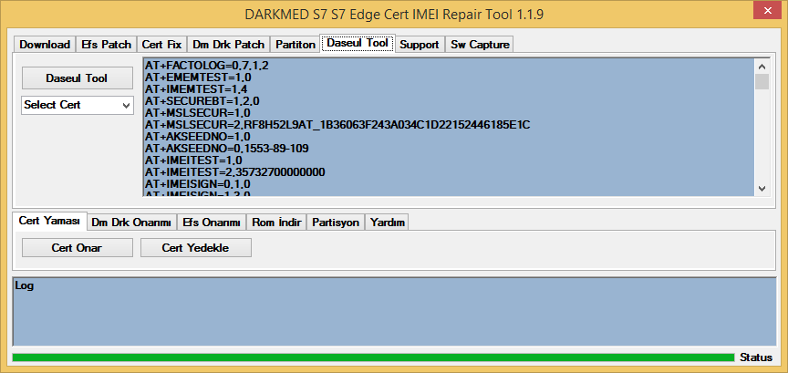 S7 S7 Edge Cert IMEI Repair Tool 1 1 9 ~ DARKMED ELECTRONICS
