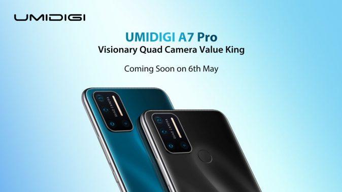 SORTEIO de x10 Smartphones UMIDIGI A7 Pro!