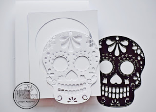 sugar skull diecutting