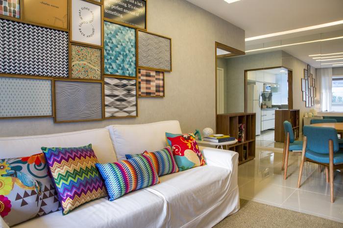 Sala De Estar E Jantar Cinza ~ Pequenas salas de estar e jantar integradas!  Jeito de Casa  Blog de