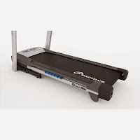 Check running belt size, thickness & cushioning system. Image, example on Treadmill Buying Tips
