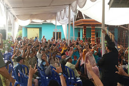 Bukber Bersama Warga, Agung Ilmu Mangkunegara Berjanji akan Tumpas Habis Begal di Lampura