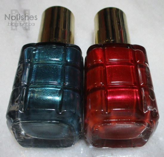 Quick Christmas Manicure - Polishes Used