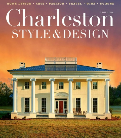 Structures blog structures custom home featured in - Charleston home and design magazine ...