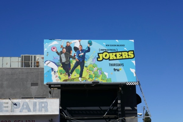 Impractical Jokers season 7 billboard