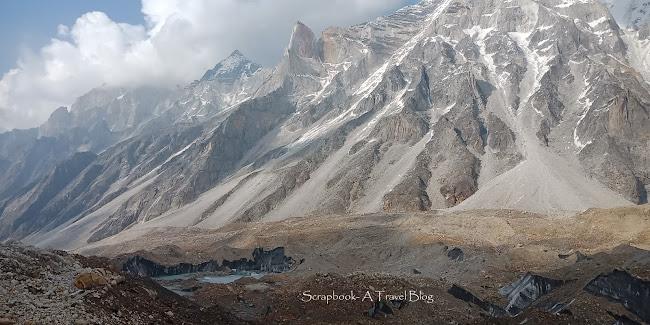 Glacier Kedartal Trek Kharak Uttarakhand Himalayan trekking