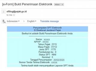 Cara Lapor Pajak e-SPT Dengan e-Form