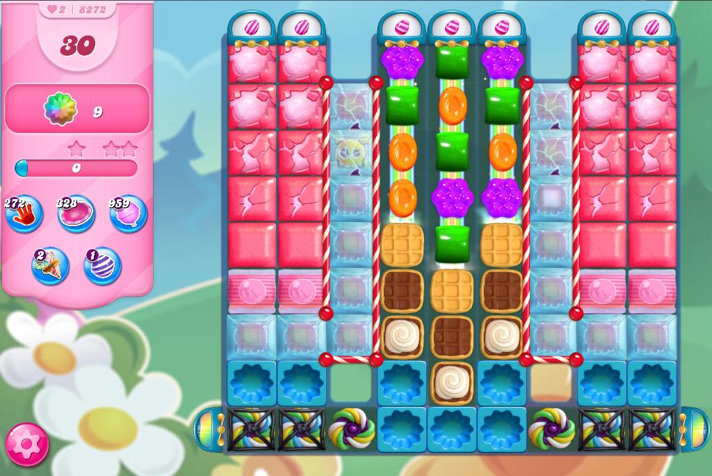 Candy Crush Saga level 8272