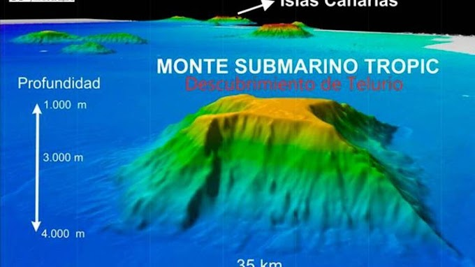 La joya submarina, Monte Tropic, el eslabón perdido en la crisis diplomática entre Marruecos y España.