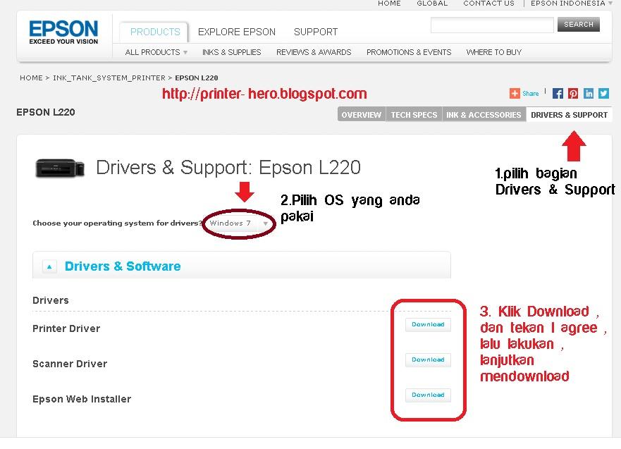 descargar driver para epson l220 gratis
