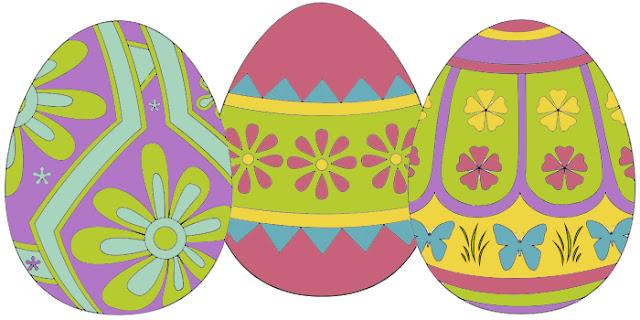 раскраска, пасхальные яйца, пасха