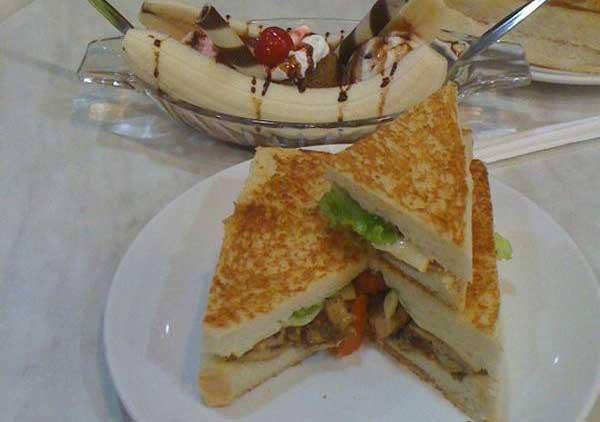 Roti Sandwich Bakar