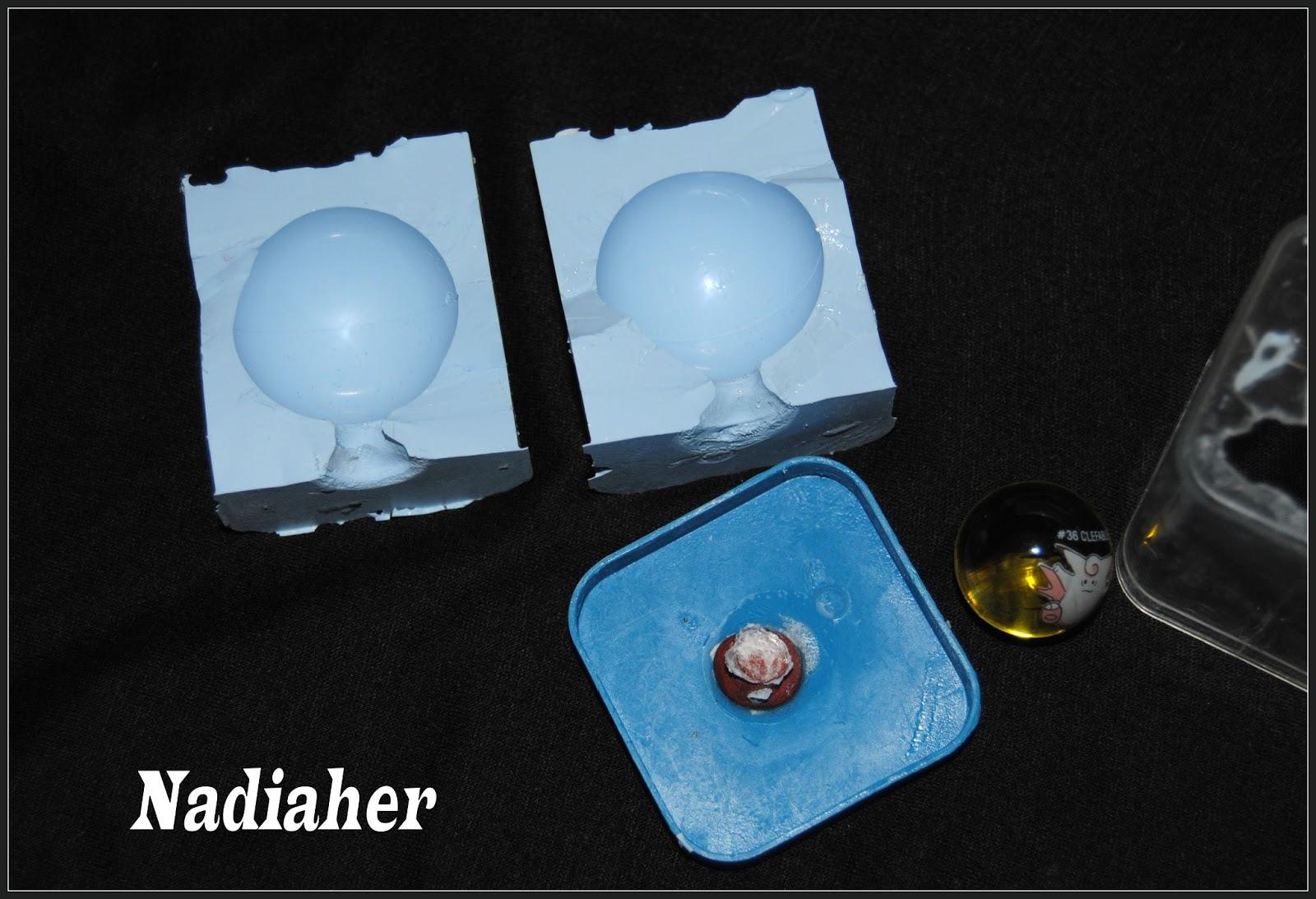 Les bijoux de nadia comment r aliser un moule sph re en silicon liquide - Comment enlever le silicone ...