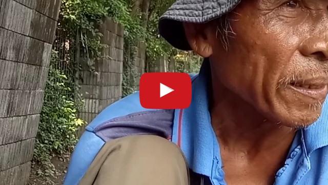 VIDEO: Miliki Penyakit Paru-Paru Dan Katarak, Perjuangan Kakek Ini Mencari Penghidupan Bikin Haru