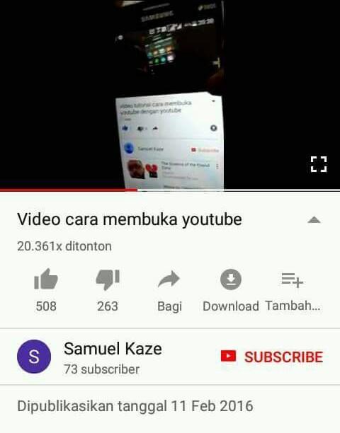 Cara Membuka YouTube