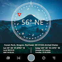 GPS map camera Lite for photo location & Timestamp icon