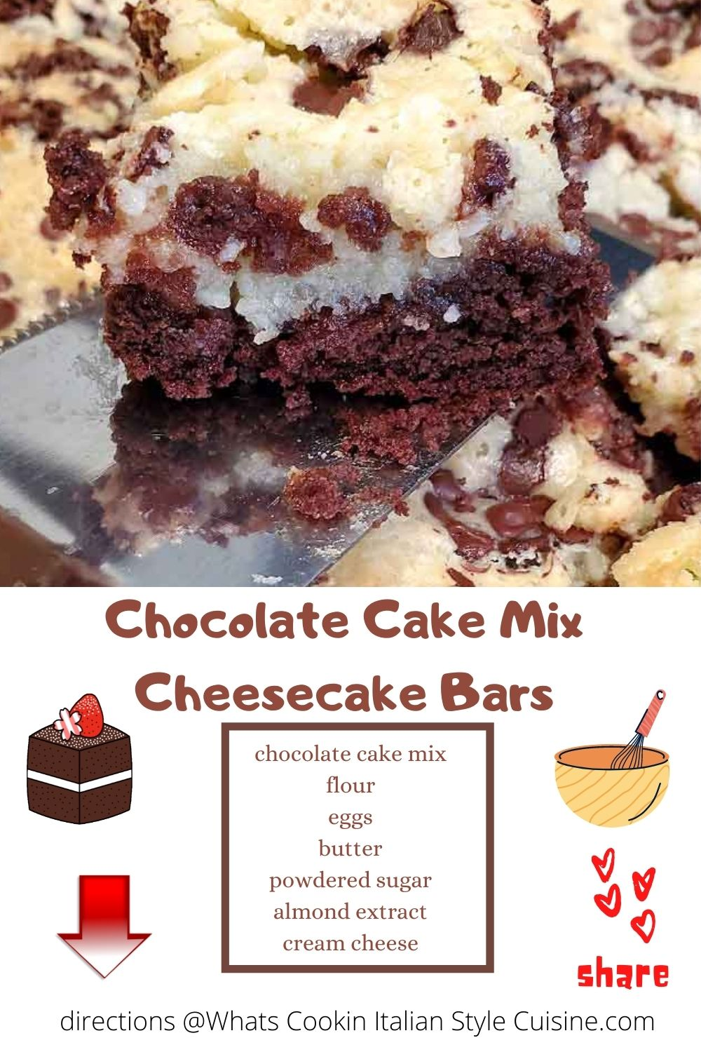 pin for later cheesecake bars