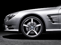 All New Model 2013 Mercedes-Benz SL 350 Edition 1 Roadster Cabriolet Press Official Picture Image Photo Media Tire Tyre Wheel Rim